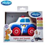 Playgro Активна играчка със светлини и звук ПОЛИЦЕЙСКА КОЛА JERRY'S CLASS 0708